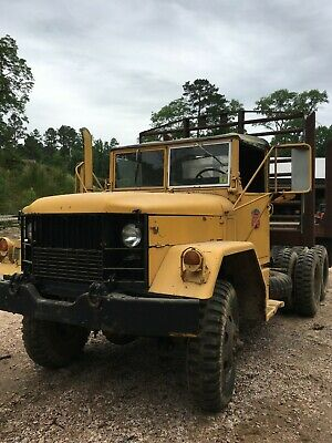 1965 White M49A1C 2 1/2 ton 6 cylinder AWD vintage logging power wagon Has Title