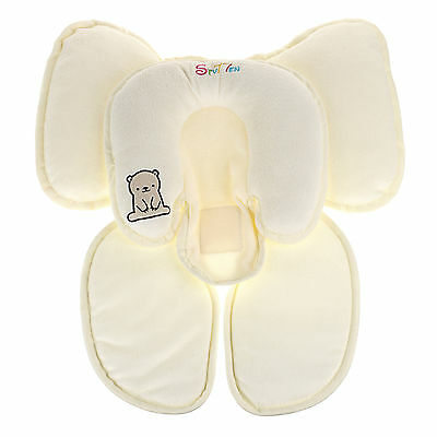 Total Head and Body Support Baby Infant Pram Stroller Car Soft Seat Cushion S-M