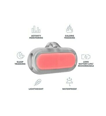 Poof Bean Pet Activity Tracker Coral NEW