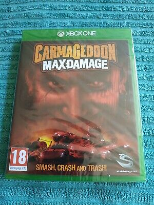 Carmageddon Max Damage Game for Microsoft XBOX ONE New And Sealed