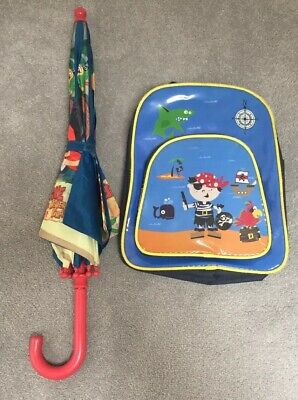 Jake and the Neverland Pirates Umbrella and Little Pirate Rucksack