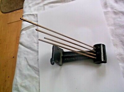 4 Fork Chimes  From An Old British Westminster Chime Mantle Clock   Ref Dv 7