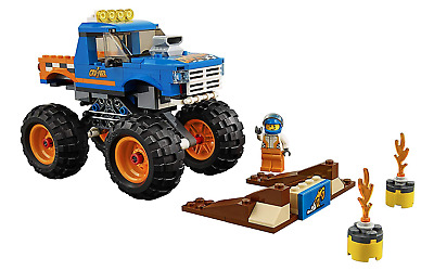 LEGO City Monster Truck 60180 Set 192 Pieces with Instructions *No Box