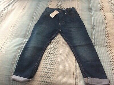 Next Boys Premium Jeans, Carrot, Slim  Fit /   Age 6 / New ,Tags / Rrp £16