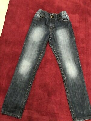 Next Boys Jeans, 11 Years, Regular, Adjustable Waist.