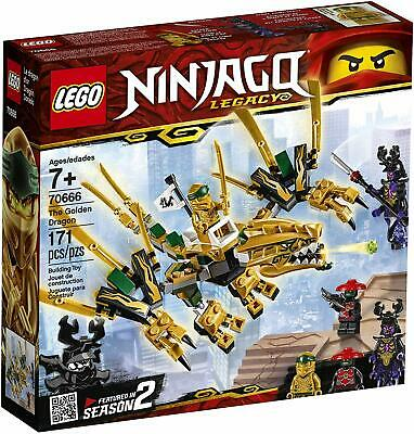LEGO Ninjago Legacy The Golden Dragon 70666 Building Toy Ages 7+
