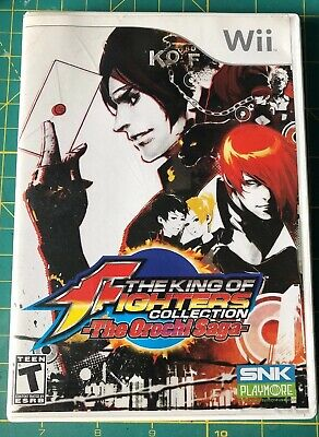 The King of Fighters Collection: The Orochi Saga Nintendo Wii Complete