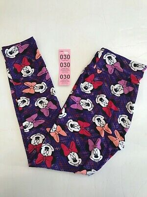 LuLaRoe Disney Leggings OS Minnie Mouse NWOT. Pick number from pictures.