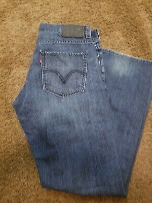 Levis 511 Skinny Jeans Faded Dark Wash Tag Size 34x30 Actual 34x29 VGUC