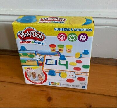 Brand new in box Play Doh Shape and Learn Numbers and Counting