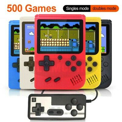 Built in 500 Games Handheld Video Portable Pocket Console Children Game Player