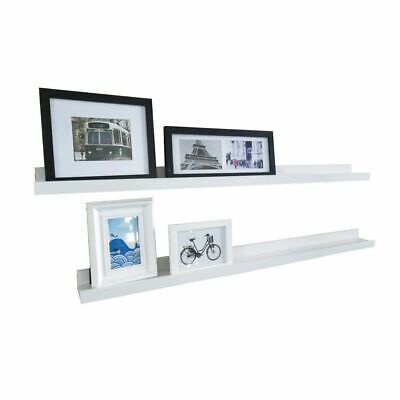 "1PCS Modern Design Floating Picture Display Ledge Wall Mount Shelf 46""x2.3""x3.7"""