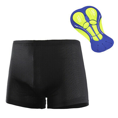 Verified Fit/&Comfort Przewalski Mens Cycling Underwear Shorts 3D Padded Bike Bicycle Riding MTB Liner