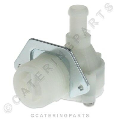 "FAGOR WATER INLET SOLENOID VALVE ANGLED 3/4"" BSP IN 11.5mm OUT ICE MAKER MACHINE"