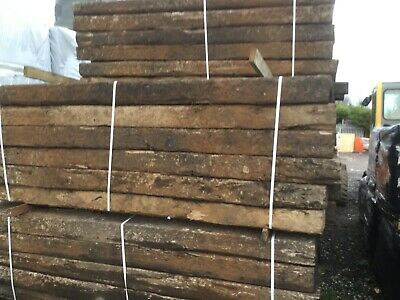 Reclaimed Railway Sleepers Full Size        **     No Paypal Please  **