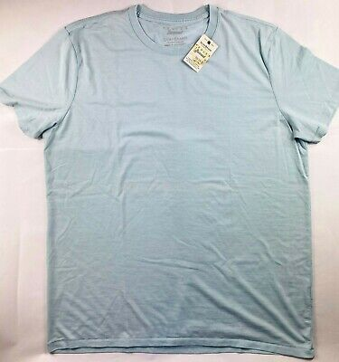 NWT$49 Faded Blue Dodge Racing Venice Burnout Logo Tee Lucky Brand Men/'s M