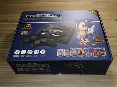 Sega Mega drive Flashback HD Console with 85 Games Included