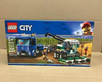LEGO City Great Vehicles Harvester Transport 60223 Building Kit 358 Piece