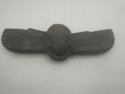 RARE ANCIENT EGYPTIAN ANTIQUE Wing Scarab 1785-1569 BC