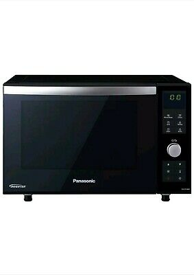 Panasonic NN-DF386BBPQ, 23L Combination Microwave With Flatbed Design In Black