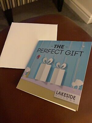 ** Lakeside Village Doncaster shopping outlet £50 gift card /voucher **