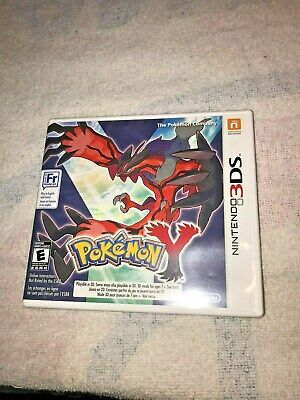 Pokemon Y GAME (nintendo 3DS, 2013)