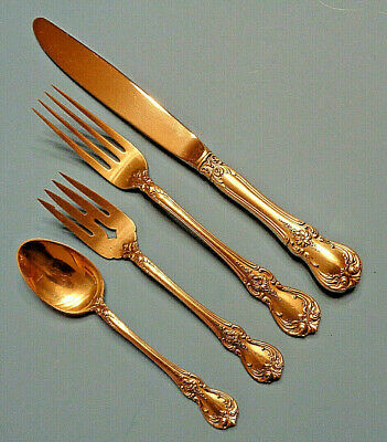 Old Master by Towle Sterling Silver Dinner Size Place Setting(s) 4pc