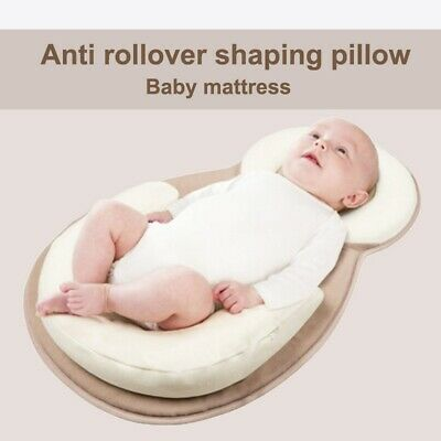 2020 Newborn Baby Anti-Roll Head Cushion Pillow Prevent Flat Sleep Nest Pod Hot