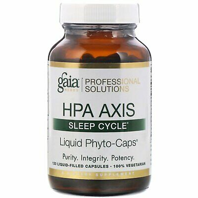 HPA Axis, Sleep Cycle, 120 Liquid-Filled Capsules