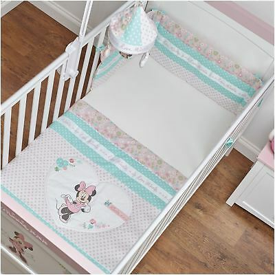 Obaby MINNIE MOUSE Quilt & Bumper Set Love MINNIE BN