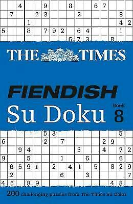 The Times Fiendish Su Doku Book 8, The Times