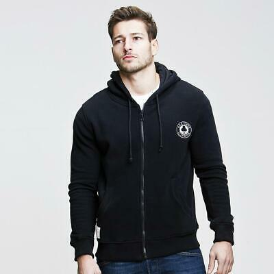 Red Torpedo - Ace Cafe London Mens Zip Up Hoodie Black - Free Delivery!