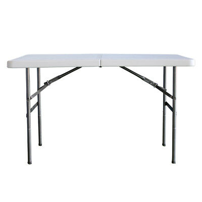 4ft Heavy Duty Multi-Purpose Portable Folding Table