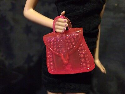 Genuine Barbie Accessories - Neon Pink Bag, New From Pack