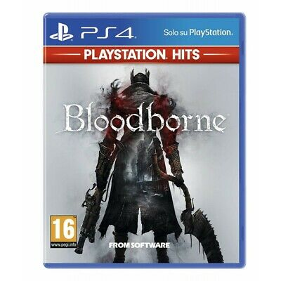 Bloodborne for Sony PLAYSTATION 4 PS4 Italian Blood Borne Hits