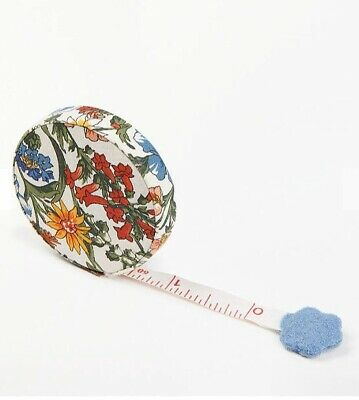 Retractable tape measure By Liberty Of London-floral Fabric Sewing RRP £9.95