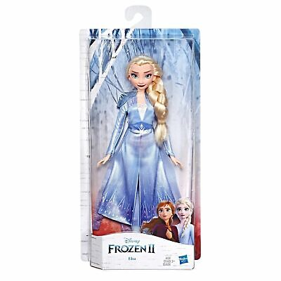 Disney Frozen 2 Elsa Fashion Doll With Long Blonde Hair and Blue Outfit NEW