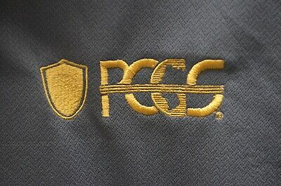 NEW PCGS Professional Coin Grading Service Short Sleeve Polo Shirt Nike Golf Lar
