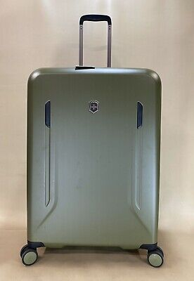 """$1000 Victorinox Swiss Army Vx Avenue 29"""" Large Hard side Spinner Suitcase Olive"""