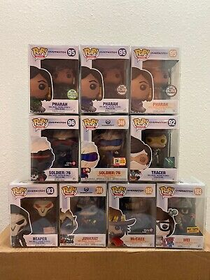 Funko Pop Games Overwatch Set Of 15 Blizzard Best Buy SDCC Box Lunch ECCC HT