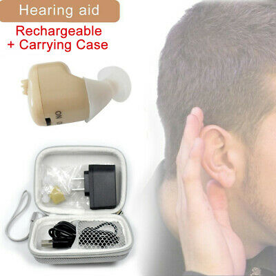 Hearing Aid Mini Invisible Digital Inner Ears Sounds Amplifier Deafness Device