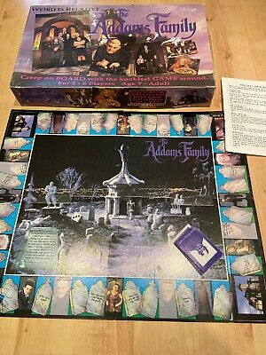 Vintage The Addams Family Board Game - Complete With Instructions