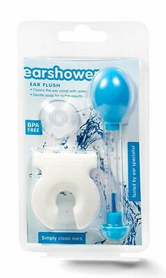 Earshower Ear Flush - For Clean Ears, Cleaner and Ear Wax Remover