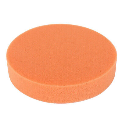 6 Inch Multi-Functional Concave Polishing Wax Buffing Sponge for Car Care Orange