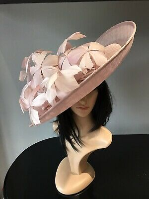 Peter Bettley Rose Pink Wedding Hatinator Hat Mother Of The Bride Occasion