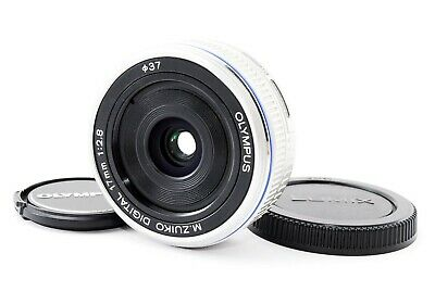 Olympus M.Zuiko 17mm f/2.8 Lens For Four Thirds (Silver) F/S  (Exc++)  #535101