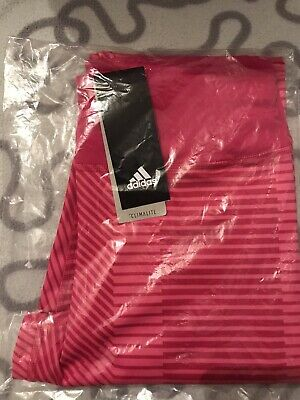 Adidas Climalite Girls Bold 7/8 Training Tights DV2752 Pink