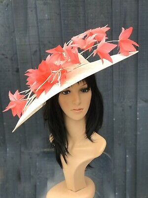 Peter Bettley Vanilla And Coralwedding Hatinator Hat Mother Of The Bride
