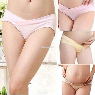 Maternity Panties Cotton U Shaped Low Waist Underwear Pregnant Women ElR8