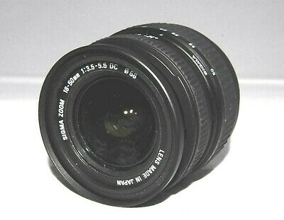 【 Excellent+++ 】SIGMA 18-50mm f/3.5-5.6 DC D Lens From Japan #112